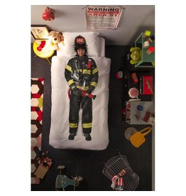 Snurk Snurk Twin Duvet Cover + Pillow - Firefighter