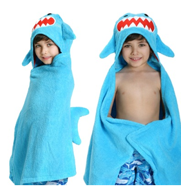 Zoocchini Zoocchini Hooded Shark Towel