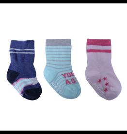 Girl's Sock 3pk - Aurora