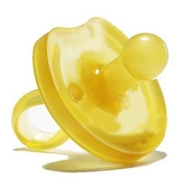 Butterfly Round Soother, natural, S (0-6m)