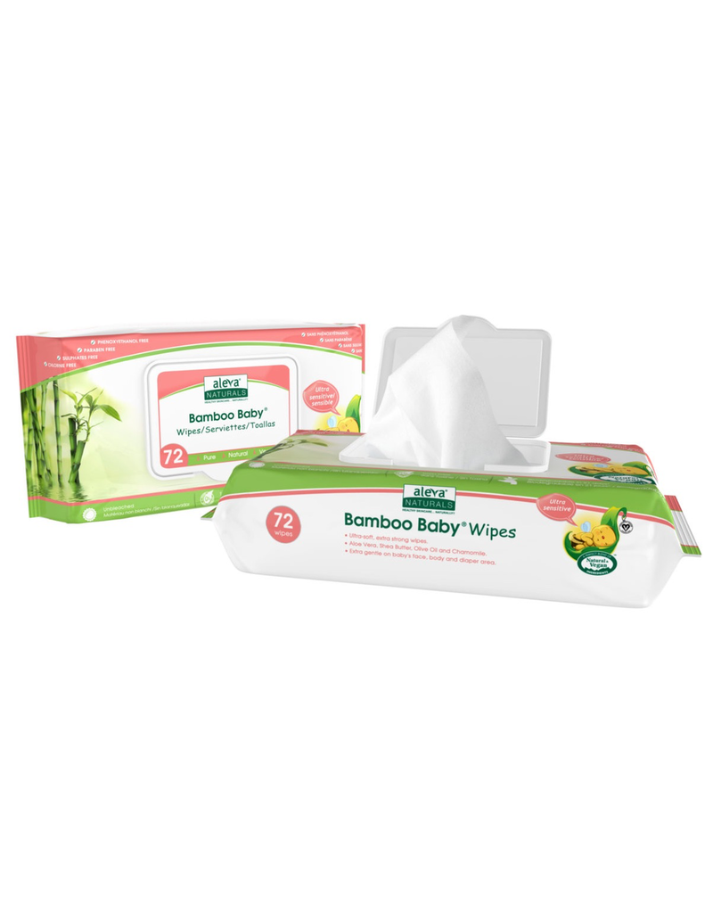 Bamboo Baby® Sensitive Wipes - 72ct
