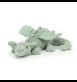 Jellycat Sage Dragon Little