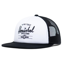 Herschel Toddler Whaler Hat White/Black