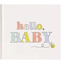 CR Gibson Hello Baby Firsts Photo Album
