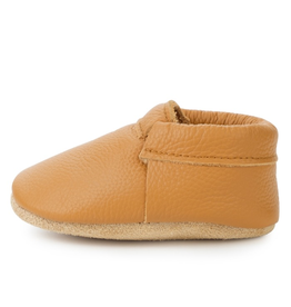 Gingersnap Fringeless Moccasins