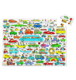 Crocodile Creek 36pc Puzzle - Richard Scarry Cars & Trucks
