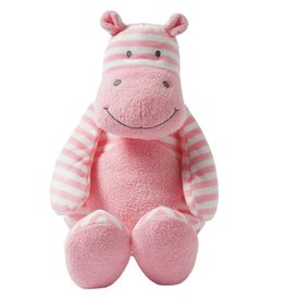 Manhattan Toys Giggle Soft Large Striped Hippo