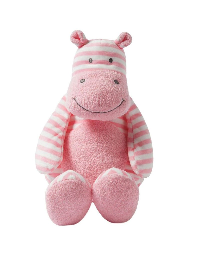 Giggle Soft Large Striped Hippo Vancouver S Best Baby Kids Store