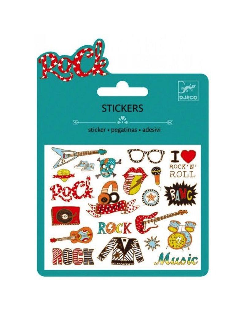 Djeco Mini Stickers / Pop And Rock