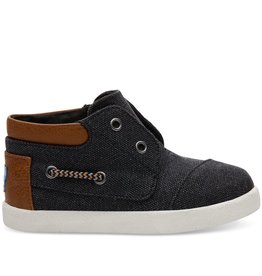 Toms Toms Tiny Black Washed Canvas Biminis