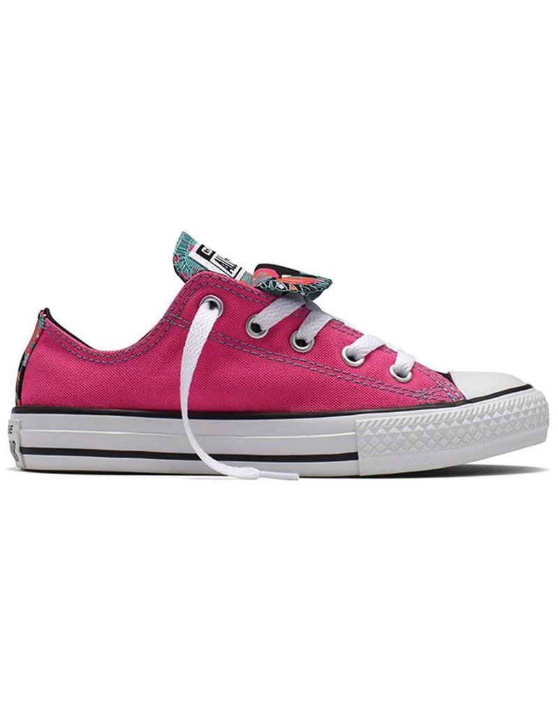 Converse Youth Double Tongue Ox Pink