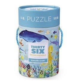 Crocodile Creek 36 Puzzle -  Ocean Animals