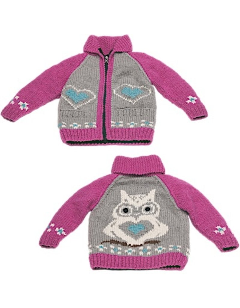 Ambler Owl Wool Sweater