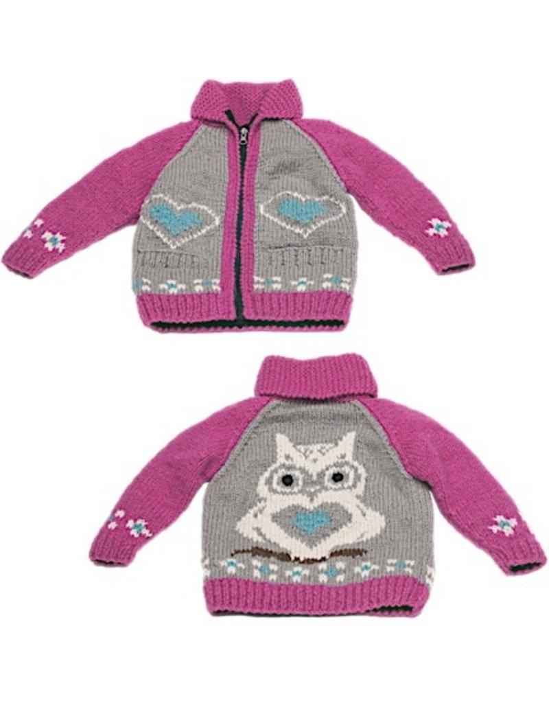 Owl Wool Sweater