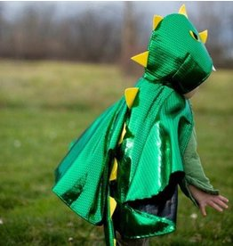 Great Pretenders Toddler Dragon Cape, Green, 1-2Y