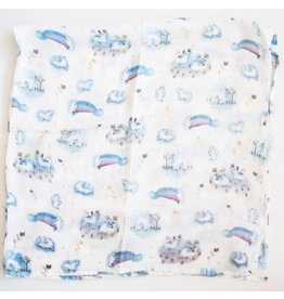Loulou Lollipop Unicorn Swaddle