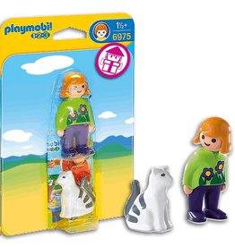 Playmobil Playmobil Woman with Cat