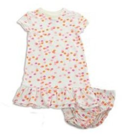 Silkberry Confetti Sprinkles Bamboo Dress/Bloomers