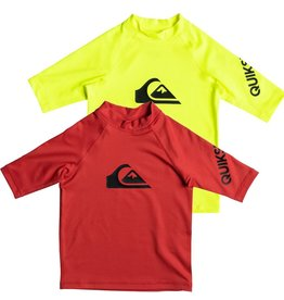 Quiksilver All Time Short Sleeve UPF 50 Rashguard