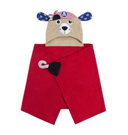 Zoocchini Zoocchini Hooded Peyton the Pirate Towel