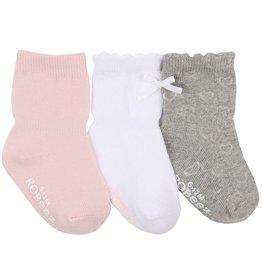 Girl's Sock 3pk - Girl Basics