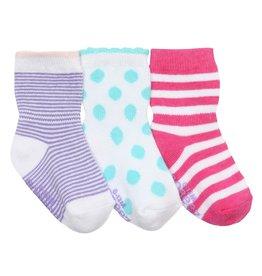 Girl's Sock 3pk - Pretty Dot