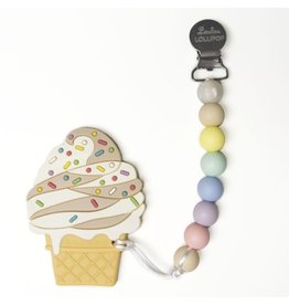 Loulou Lollipop Silicone Chocolate Ice Cream Teether