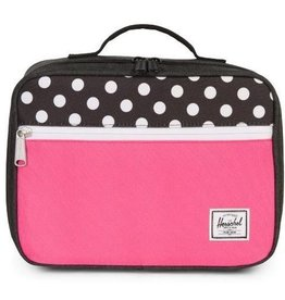Herschel Pop Quiz Lunch Black Crosshatch/Pink