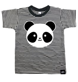 Whistle & Flute Kawaii Panda Striped T-shirt