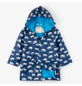 Hatley Colour Changing Trucks Raincoat