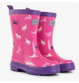 Hatley Unicorn Silhouettes Rain Boots