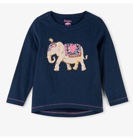 Hatley Elegant Elephant LS Tee