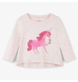 Hatley Curious Unicorn LS Baby Tee