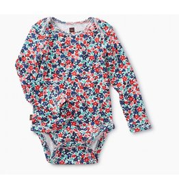 Tea Collection Baby Cape Floral Bodysuit