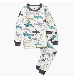 Tea Collection Jet Plane Graphic Pajamas