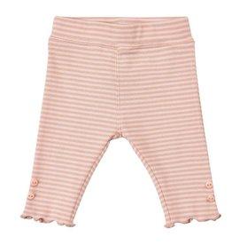 Minymo Striped Cotton Leggings