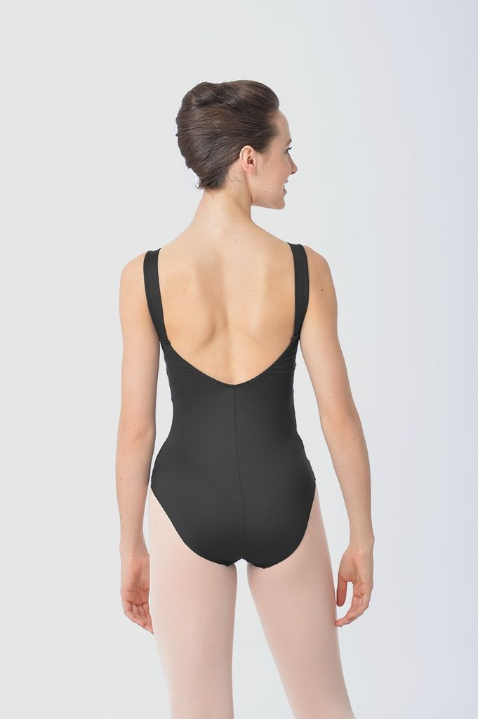 GAYNOR MINDEN AL127 SOIREE CROSS FRONT EMPIRE TANK LEOTARD