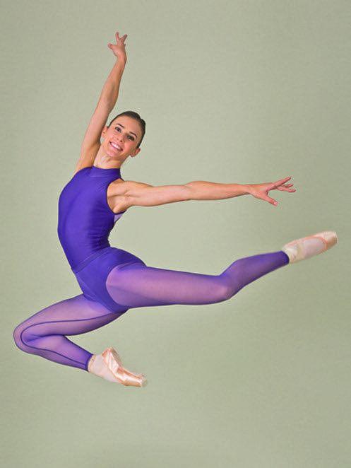 BALLET ROSA LAETITIA SHEER MESH LEGGING