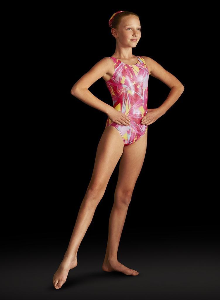 b75c3c974 GB121 FOIL TANK LEOTARD - Attitudes Dancewear Etc.