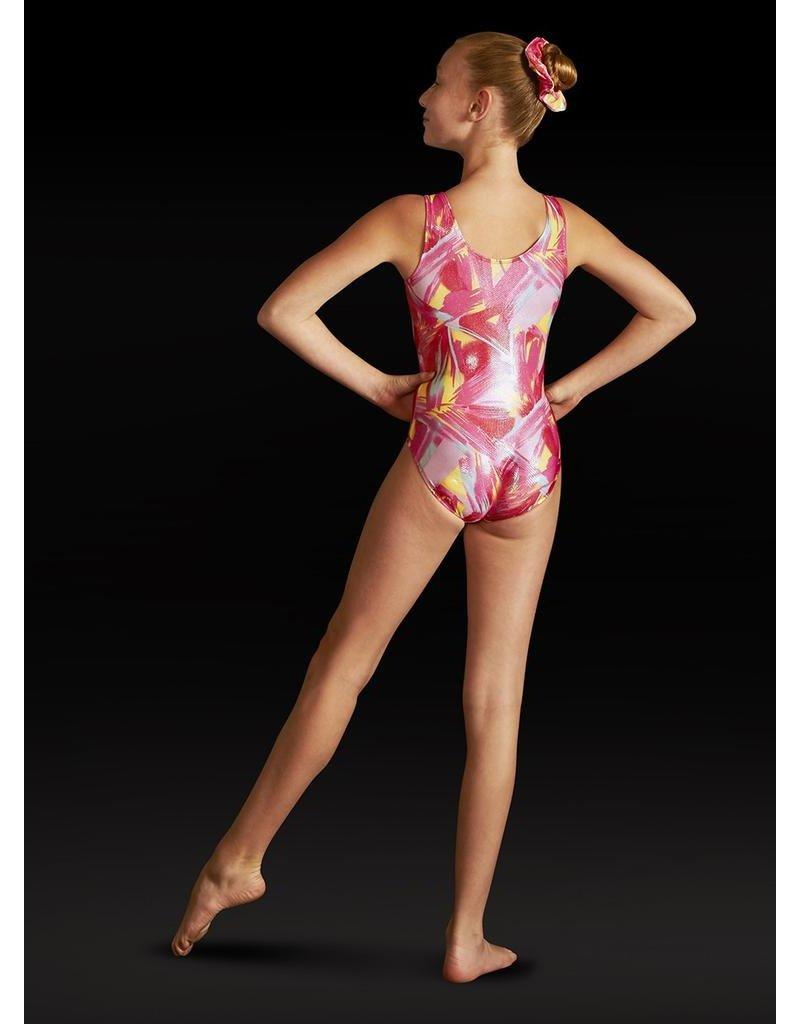 LEO'S DANCEWEAR GB121 GYM FOIL TANK LEOTARD