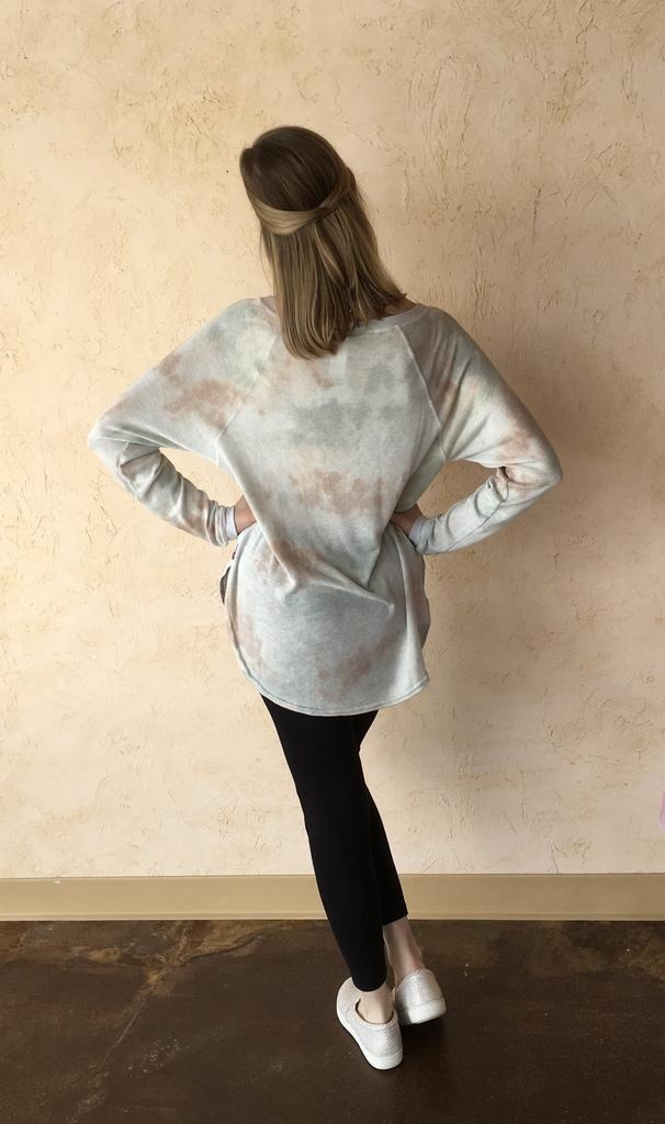 HARD TAIL BIRD-24 BOTANICAL SWEATER