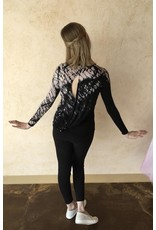 HARD TAIL SIR-65 OPEN BACK LONG SLEEVE TOP