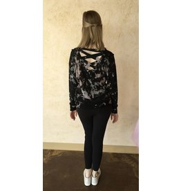 HARD TAIL SCREP-04-SD1 LONG SLEEVE PULLOVER TOP