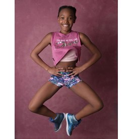 CAPEZIO & BUNHEADS AFS3261C COLORFUL SHORT