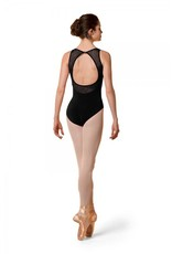 BLOCH & MIRELLA M3065TM KID MESH OPEN BACK TANK LEO