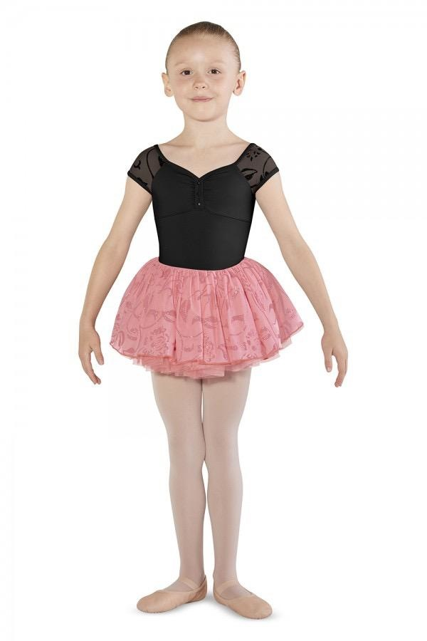 BLOCH & MIRELLA M1515C CAP SLEEVE LEOTARD