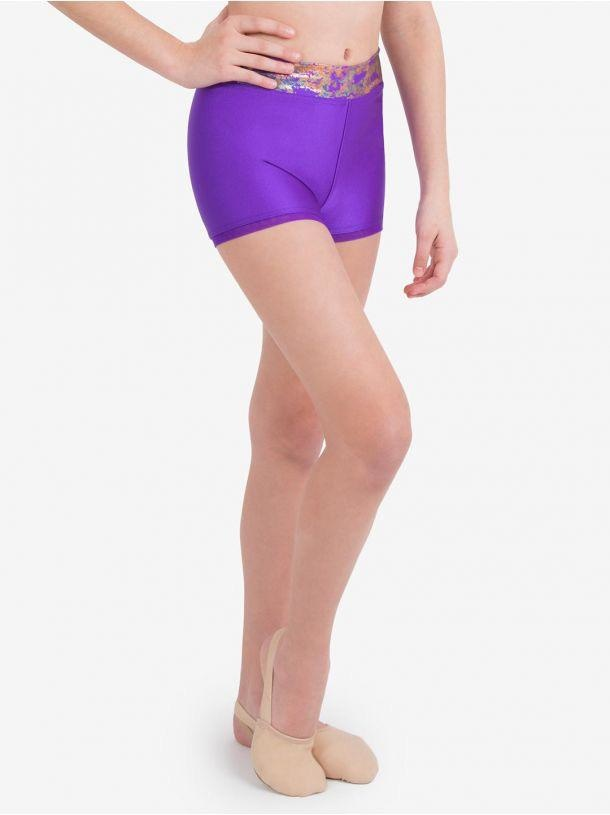 CAPEZIO & BUNHEADS A11519T COLORFUL SHORT