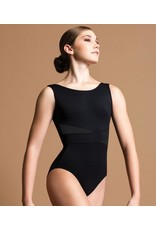 MOTIONWEAR 2674 TENCEL DIAGONAL OVERLAP BOATNECK