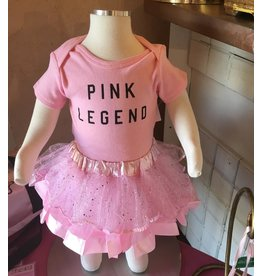 "CAPEZIO & BUNHEADS AFW4010C FORD AND WYATT X ""PINK LEGEND"" INFANT ONSIE"