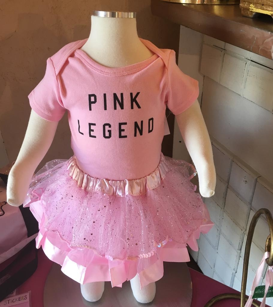 """CAPEZIO & BUNHEADS AFW4010C FORD AND WYATT X """"PINK LEGEND"""" INFANT ONSIE"""